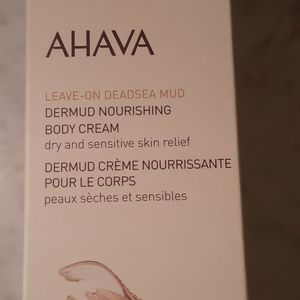 NWT.  AHAVA Dermot Nourishing Body Cream